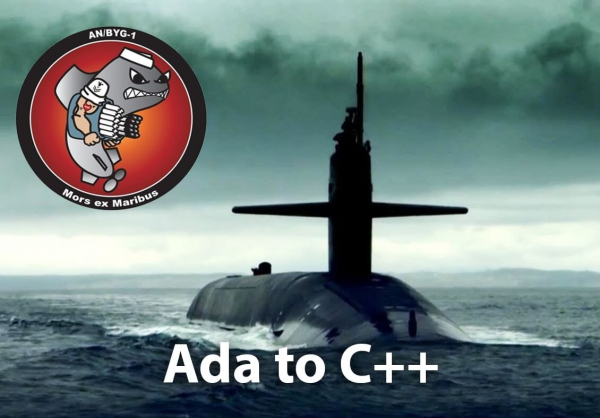 ADA to C++ - Naval Undersea Warfare Center (NUWC)