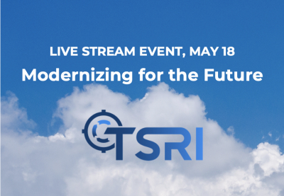 Virtual Event on May 18: Modernizing for the Future