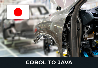 COBOL to Java - Comture Japanese Car Manufacturer